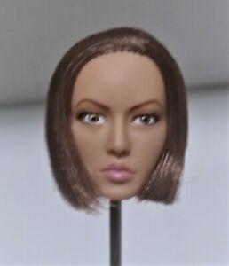 YMtoys 1:6 Asian Female Head Sculpt Short Hair Head Model