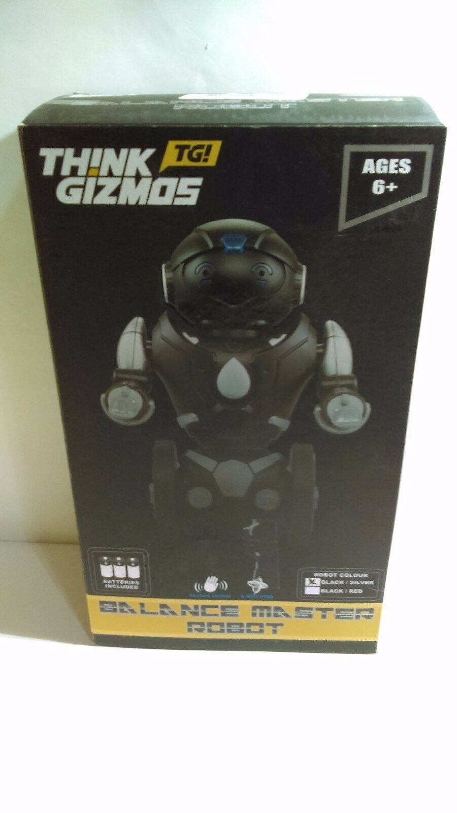 Remote Control Toy Robot For Kids TG634-S - Balance Robot (USED)