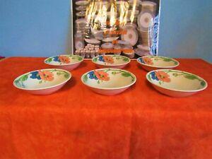 6 Rammequins Cups Villeroy Et Boch Model Amapola Set N 1 Ebay