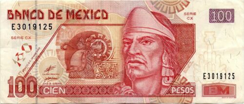 2002-Mexico-100-Pesos-VF-EF-SCARCE