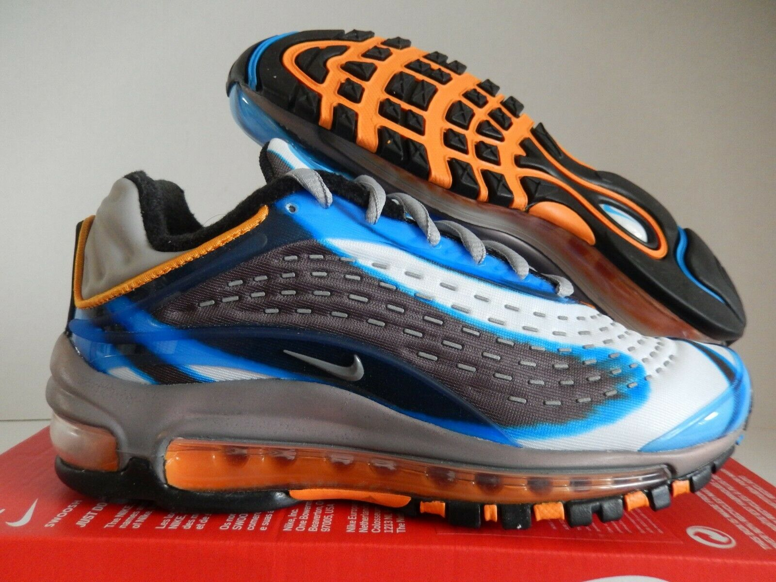 WMNS NIKE AIR MAX DELUXE 2017 97 PHOTO blueE-WOLF GREY SZ 5.5 [AQ1272-401]