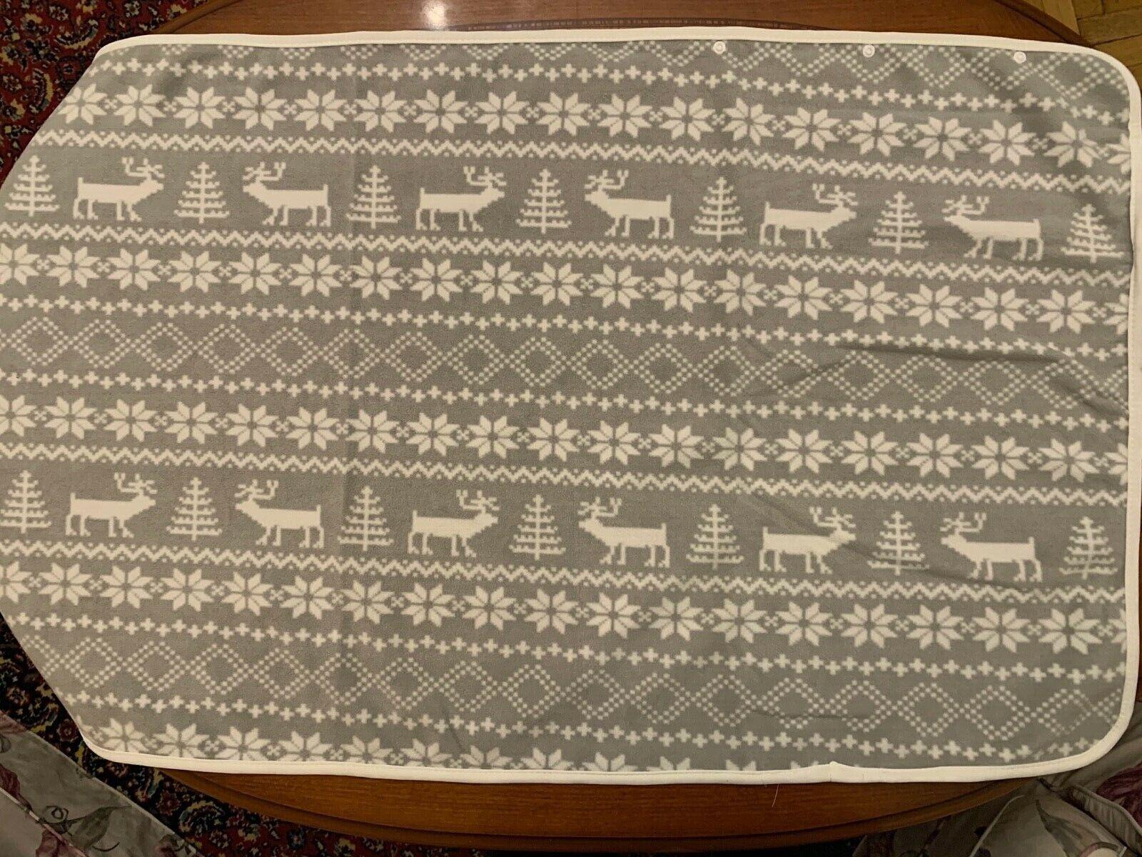 Blanket Brand 'Modern House ' 135x65cm