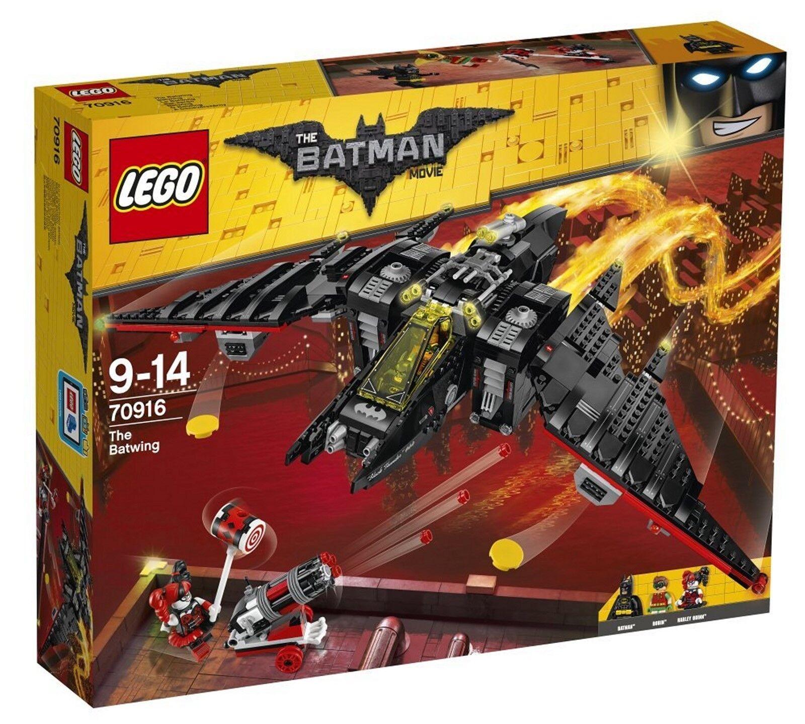 LEGO® THE LEGO® BATMAN MOVIE 70916 - Batwing - 1.053 TEILE NEU & OVP