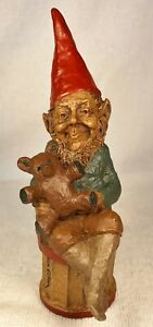TEDDY-R 1983~Tom Clark Gnome~Cairn Item #81~Ed #47~Hand Signed~Story Included