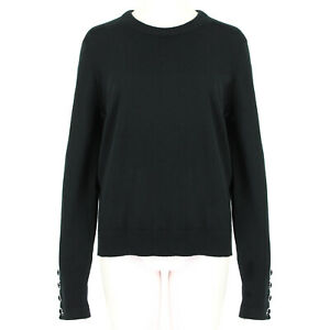 Michael-Kors-Collection-Black-Pure-Cashmere-Knitwear-Sweater-XL-UK14