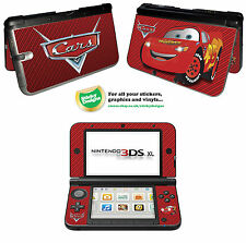 Cars Lightning McQueen Vinyl Skin Sticker for Nintendo 3DS XL