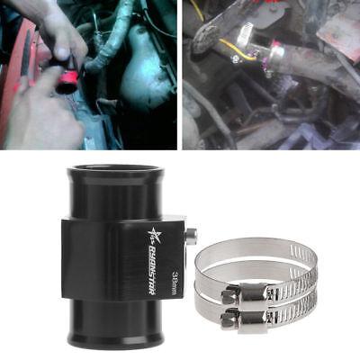 S180 36MM LCD Car Water Temperature Meter Sensor Gauge Radiator Hose Joint Pipe