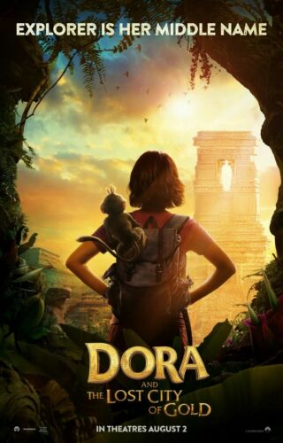 New Dora and the Lost City of Gold Fabric Poster James Bobin Movie X-143-24x36