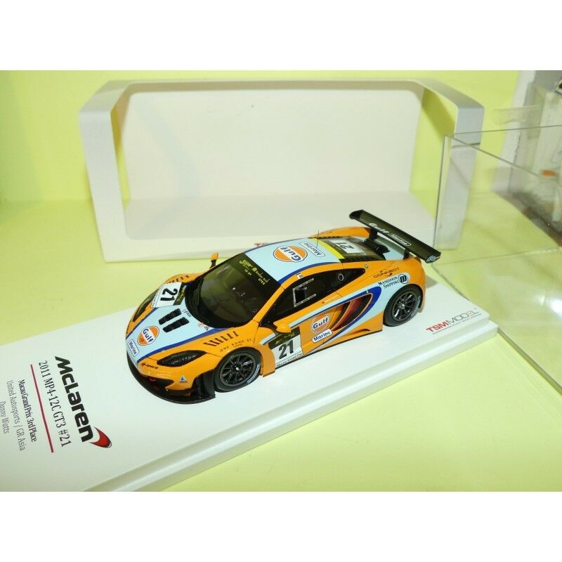 incredibili sconti McLAREN MP4-12C GT3 GP MACAU 2011 D. D. D. WATTS TSM-modello 1 43 3ème  vendita online
