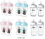 ULTRA-Tommee-Tippee-Bottles-Pink-Clear-260ml-340ml thumbnail 1