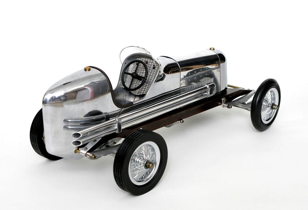 Model Car Car Car Bantam Midget Spindizzy Racer Large Race Car Model Car Wood Metal b922d6