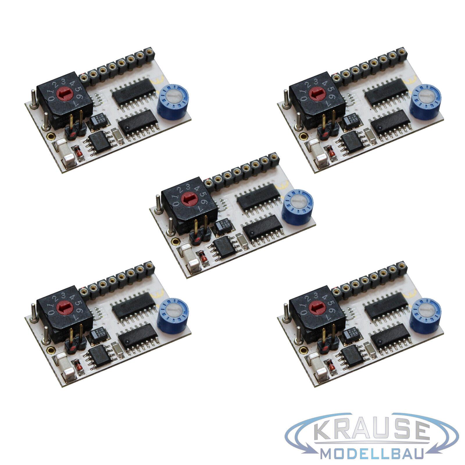 LED lauflichtsteuerungen programa  jugando juegos de video 1 - 5  4 canales ledcontrol 5 unid.