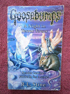 GOOSEBUMPS-25-034-NIGHT-IN-TERROR-TOWER-034-R-L-STINE-GREAT-BRITAIN-EDITION