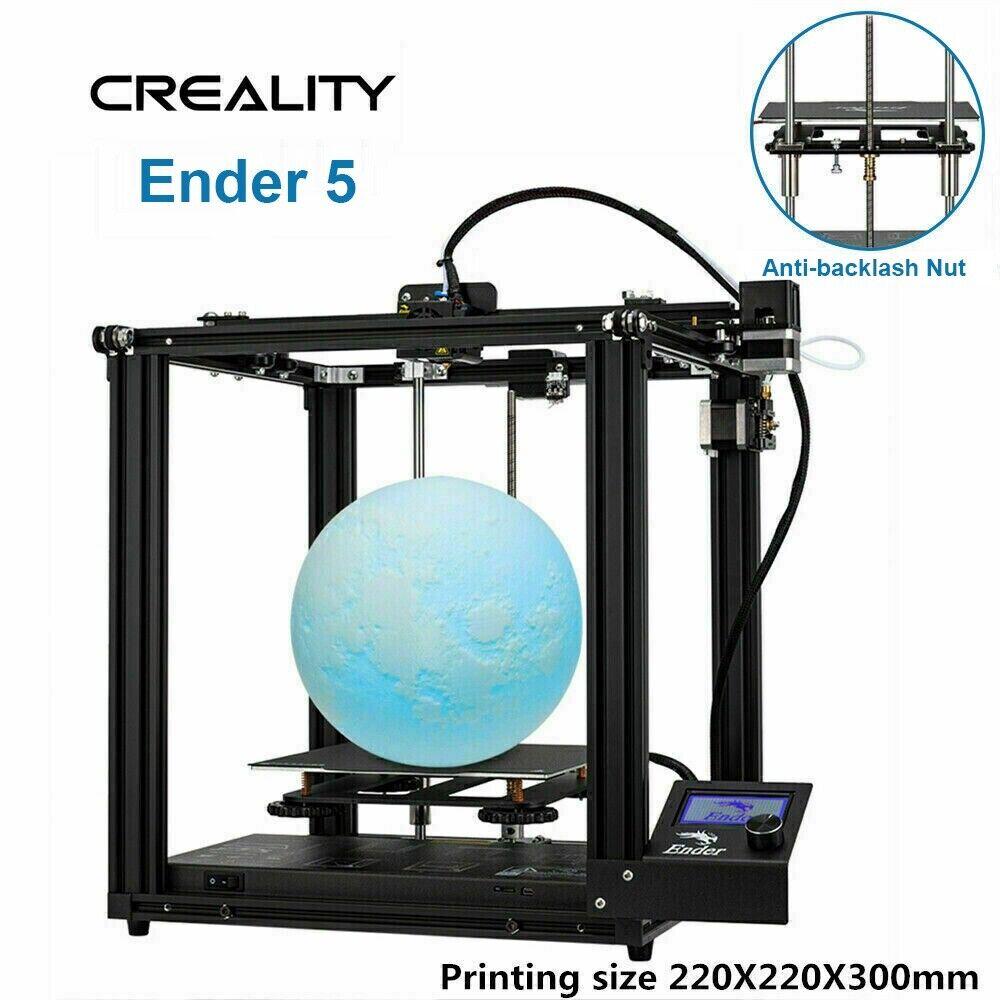 Creality Ender 3 3D Printer 220X220X250mm 1.75mm PLA DC 24V New Version UK Stock