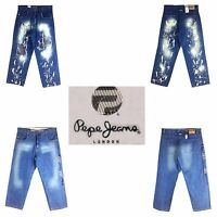 Pepe Jeans Assorted Style, Old School Baggy, Men's Long Denim Jeans,