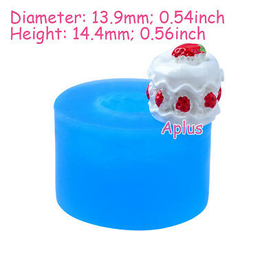 GFiEB103 17.5mm Tiny Cake Silicone Mold Cake Decoration Resin Baking Tools Candy