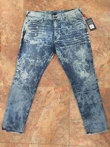 5dd3a5a28  249 True Religion Men s Mick Slouchy Skinny Jean Side Zipper Size ...
