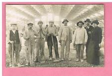 CPA - CARTE PHOTO -  LYON - 69 - HALLE TONY GARNIER  - EXPOSITION 1914-  TRAVAUX