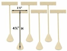 6 Pack 4 34h Linen Earring T Stand Display T Shape Showroom And Tradeshow