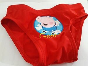 2 Pezzi Red 6 Anni Costume da George Pig Peppa Pig