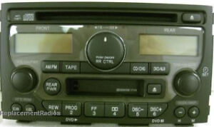 Image Is Loading Honda Pilot Cd Cette Dvd Control Radio 1tv0