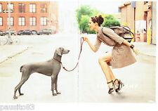 PUBLICITE ADVERTISING 096  2012  Longchamp (2p) sac à main accessoires pret à po
