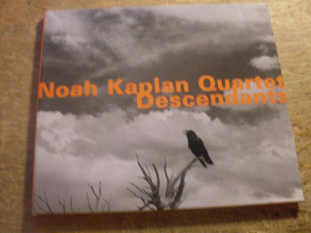 Noah Kaplan Quartet  - Descendants   [CD Album] 2008 / 2011  Joe Morris