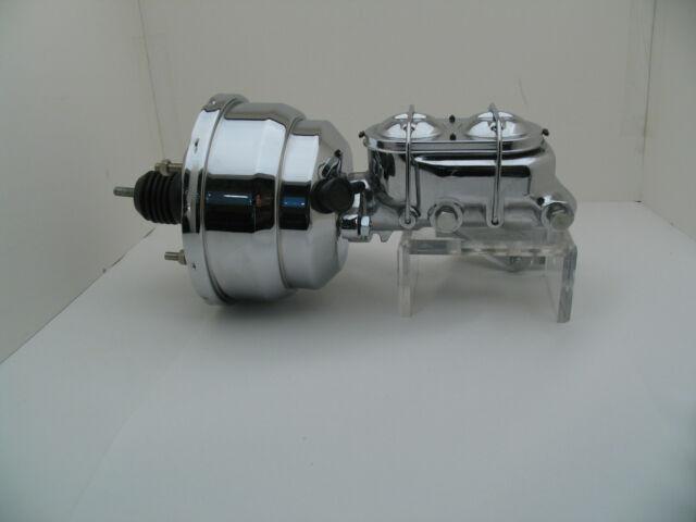 """GM F-Body Chrome 8"""" Power Brake Booster Conversion Kit No Brackets"""