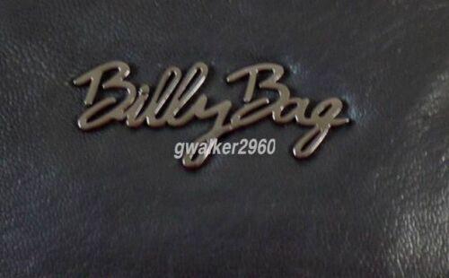 Billy Black Moc Bag barril mano Bnwt Croc cuero r86rCwq