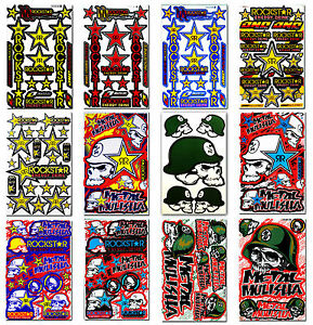Image Is Loading Rockstar Energy Metal Mulisha Stickers Bike BMX MTB
