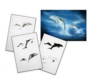 Step-by-Step-Stencil-AS-038-dolphin-UMR-Airbrush-Schablone