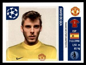 Panini-Champions-League-2011-2012-David-de-Gea-Manchester-United-FC-No-142