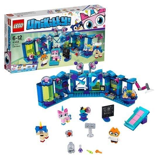 Lego Unikitty Dr Foxs Lab 41454 (Brand New)