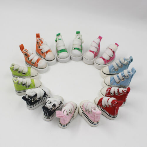 """12/"""" Neo Blythe doll outfits from factory canvas shoes 6 colors price for 2 pairs"""