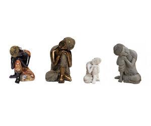 THAI BUDDHA personaggio calma Buddha meditierend decorazione-personaggio Feng Shui Yoga Decorazione Nuovo