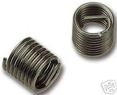 10 Off V-Coil Thread Repair Inserts M3 x 0.5 Compatible With Helicoil 1.5D
