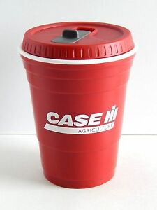 16oz Case Ih Red Solo Cup With Lid Ebay