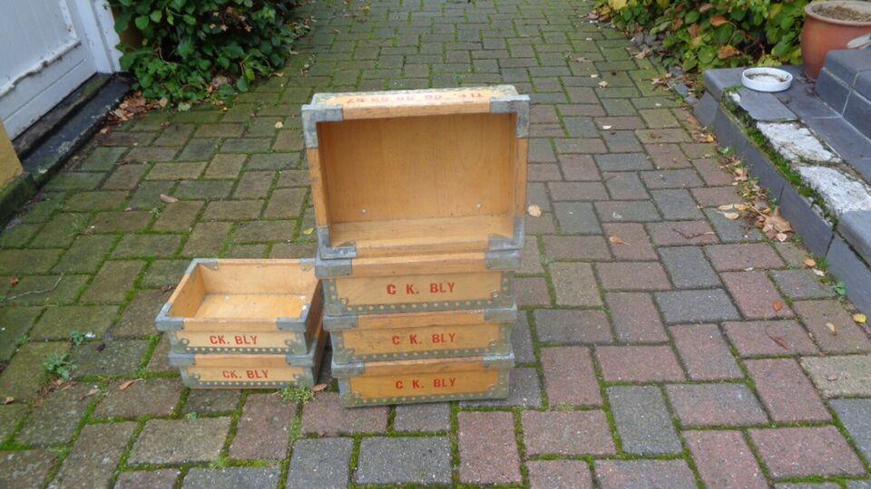 Andre samleobjekter, Træ kasser