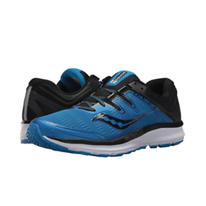 Saucony S20415-2 Guide ISO Azul Negro Para hombres Zapatos para Correr Consulte Al Por Menor