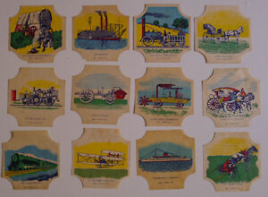 1950-039-s-E-J-Sperry-Bread-Label-lot-of-15-different-22-different-of-48
