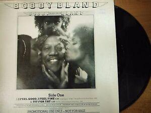 33 RPM Vinyl Bobby Bland I Feel Good I Feel Fine MCA Rec L33-1835 PROMO 041015SM