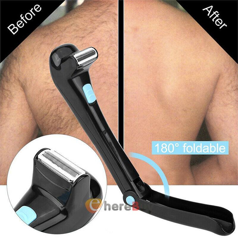 Electric Men Back Hair Removal Body Back Shaver Razor Shaving Trimmer Tool 2020