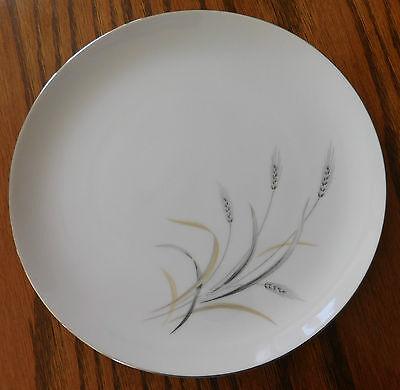 Silver Rhythm Japanese dinner plate Kaysons Fine China vintage 1960s 4 available