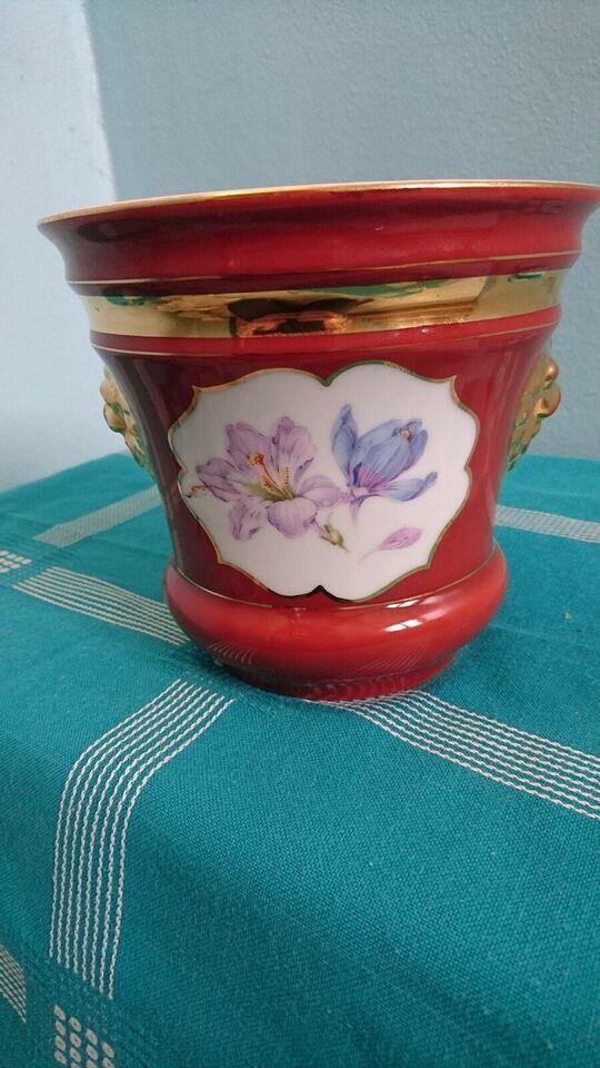 Porcelæn, Urtepotteskjuler, C. Tielsch & Company