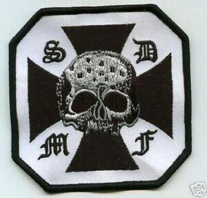 Noir Label Society Membre Ventilateur Patch Séries : BLS Croix Corss