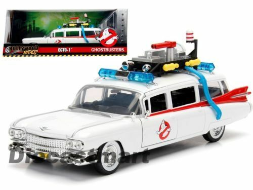 Ghostbusters ECTO 1 99731 Hollywood Rides 1 24 Scale Diecast Car JADA
