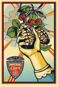 Shepard-fairey-imperial-glory-signed-lithograph-obey-giant-mint