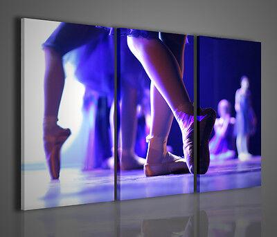 Quadri moderni classic dance quadro moderno tele for Arredamento scuola di danza