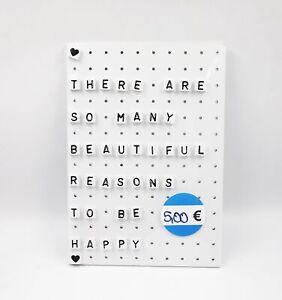 Memoboard-Letterboard-Pinnwand-Stecktafel-40-Buchstaben-Steckbrett-28-x-40-cm