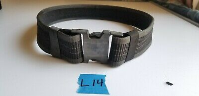 Bianchi Patroltek 8100 Waterproof 2 Loop Web Duty Belt Nylon Medium Black 31322